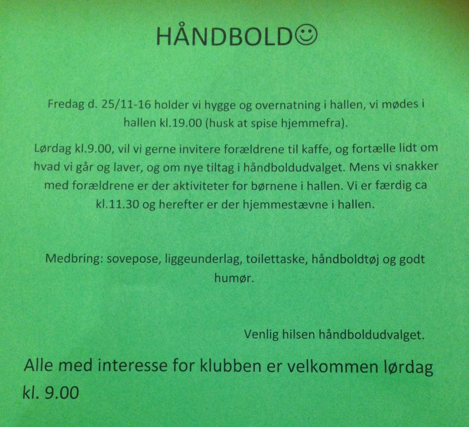 haandbold-weekend